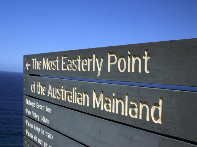 The Eastern Point of Australia